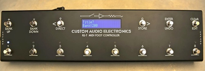 product cae rst midi foot controllerSwitch And Controller Midi Foot Pedals #17