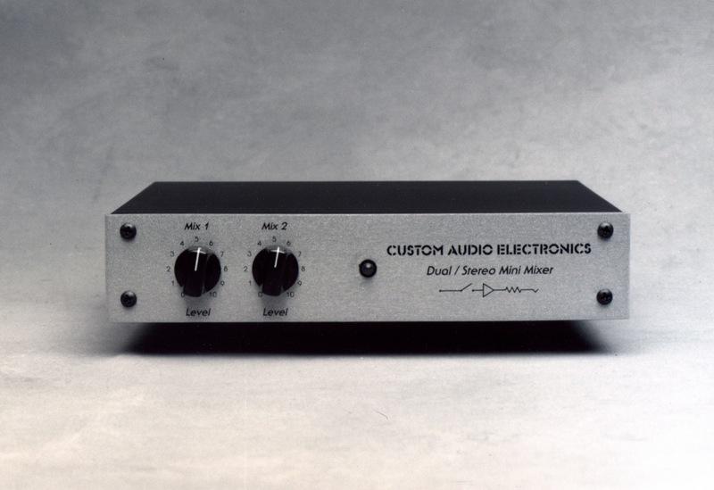 product dual stereo mini mixer. Black Bedroom Furniture Sets. Home Design Ideas